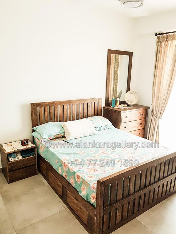 Teak, Mahogany Bedroom Sets - Alankara Gallery, Moratuwa.